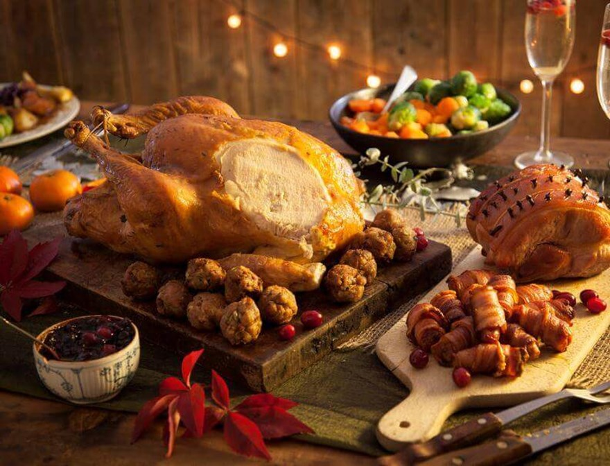 Christmas Meat.Weird And Wonderful Facts About Christmas Food Smei