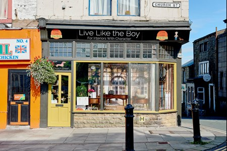 Live Like The Boy Shop